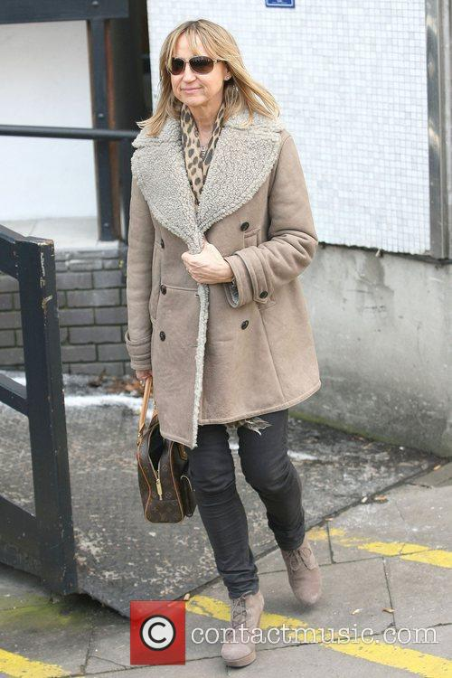 Carol McGiffin at the ITV studios