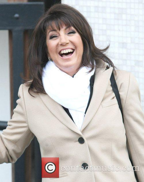 Jane McDonald at the ITV studios