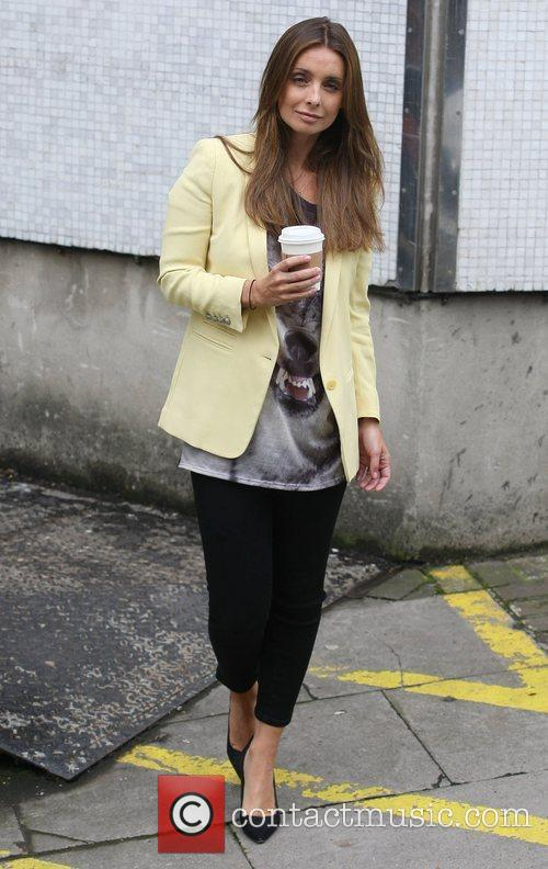 Louise Redknapp at the ITV studios London, England