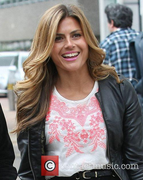 Zoe Hardman at the ITV studios London, England