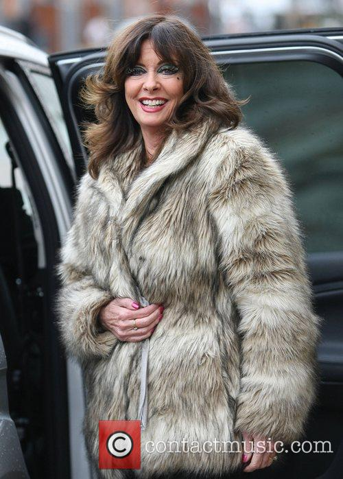 Vicky Michelle leaves the ITV studios London, England