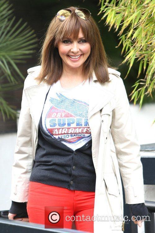 Carol Vordeman at the ITV studios London, England