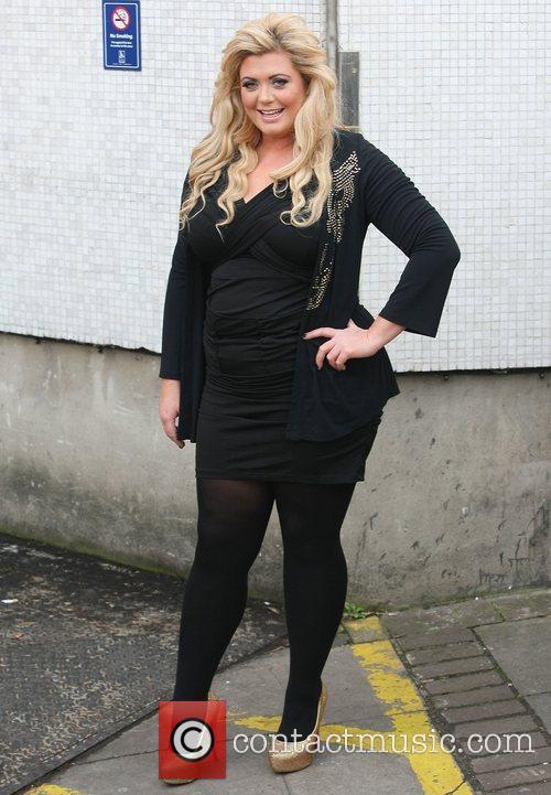 Gemma Collins at the ITV studios London, England