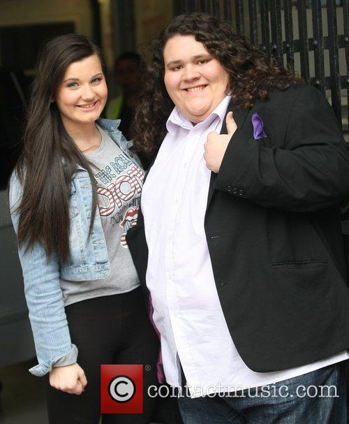 Jonathan Antoine and Charlotte Jaconelli at the ITV...