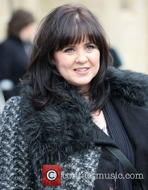 Coleen Nolan at the ITV studios London, England