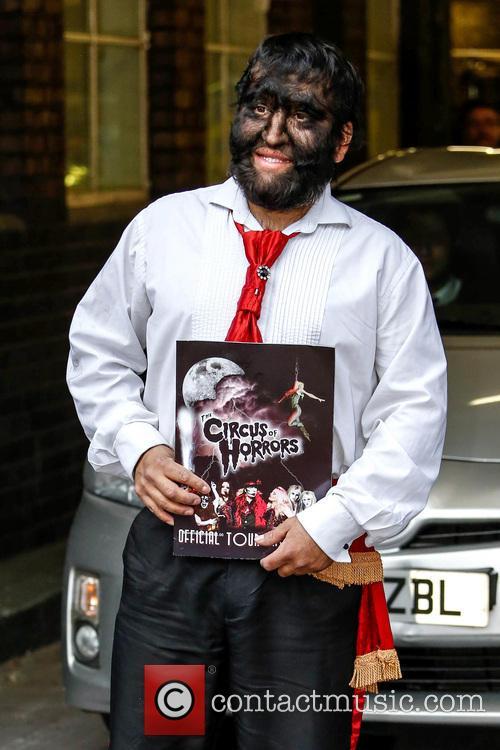 Jesus Aceves:Chuy Celebrities at the ITV studios...