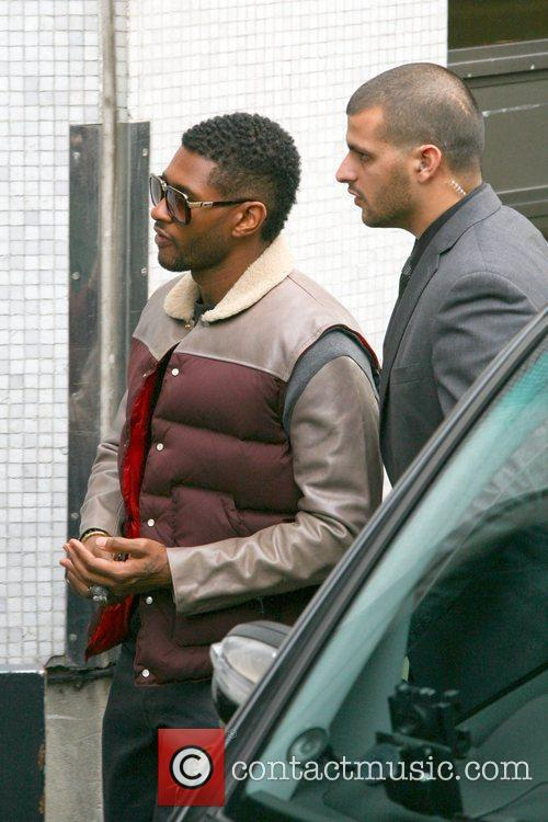 Usher, London, England, Mandatory and Itv Studios 6