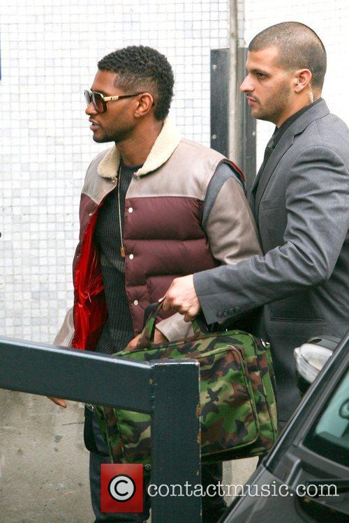 Usher, London, England, Mandatory and Itv Studios 3