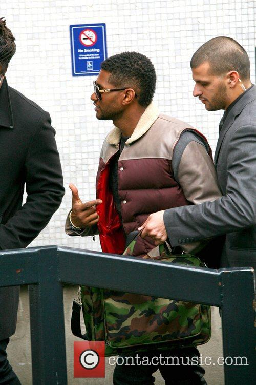 Usher, London, England, Mandatory and Itv Studios 8