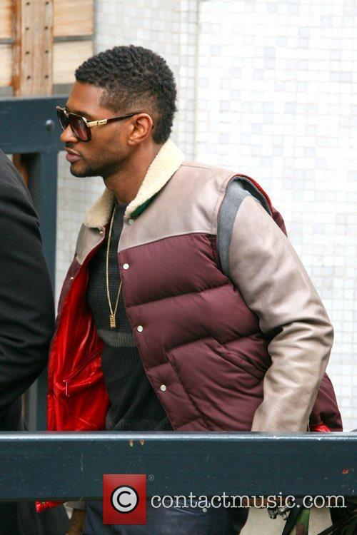 Usher, London, England, Mandatory and Itv Studios 2