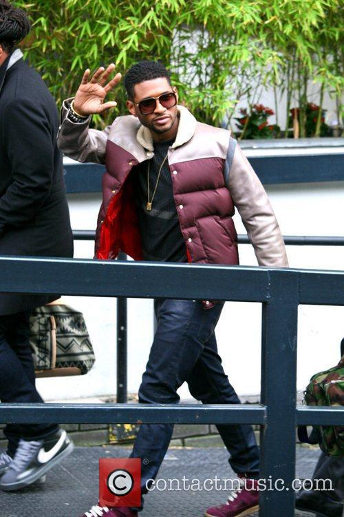 Usher, London, England, Mandatory and Itv Studios 5