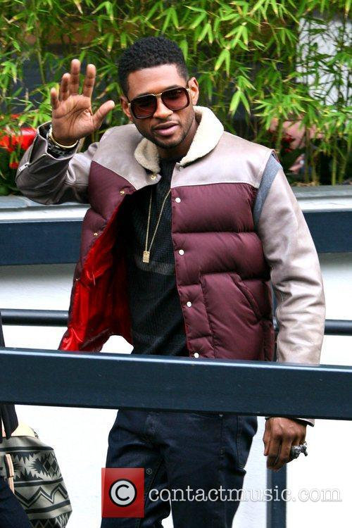 Usher, London, England, Mandatory and Itv Studios 9