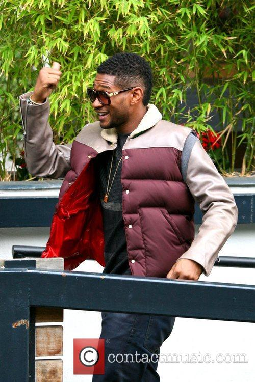 Usher, London, England, Mandatory and Itv Studios 1