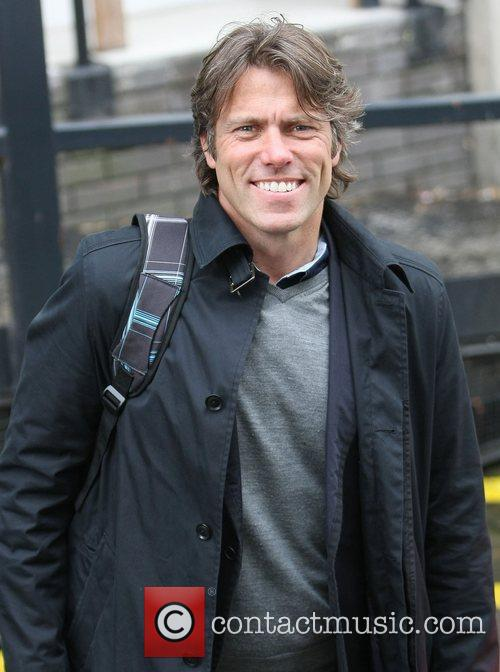 John Bishop at the ITV studios London, England
