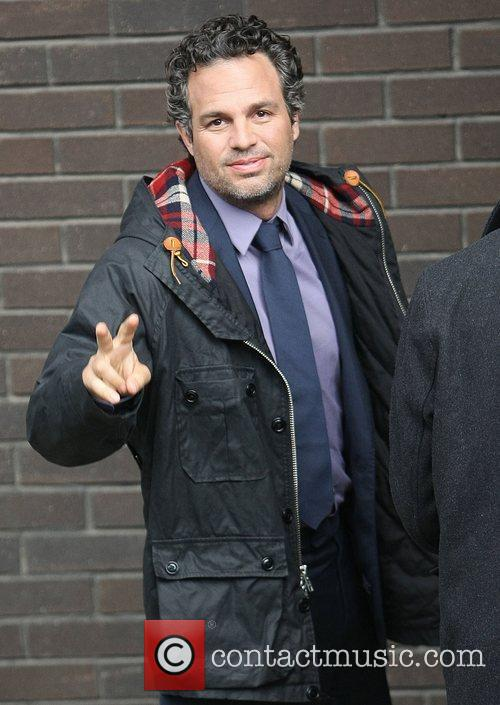 Mark Ruffalo at the ITV studios London, England