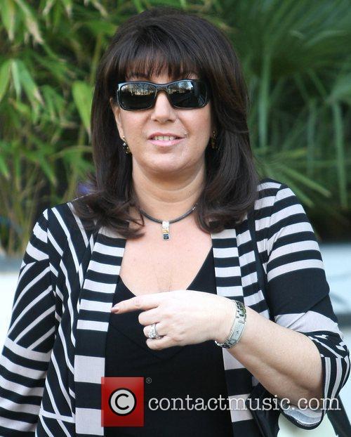 Janet McDonald outside the ITV studios  London,...