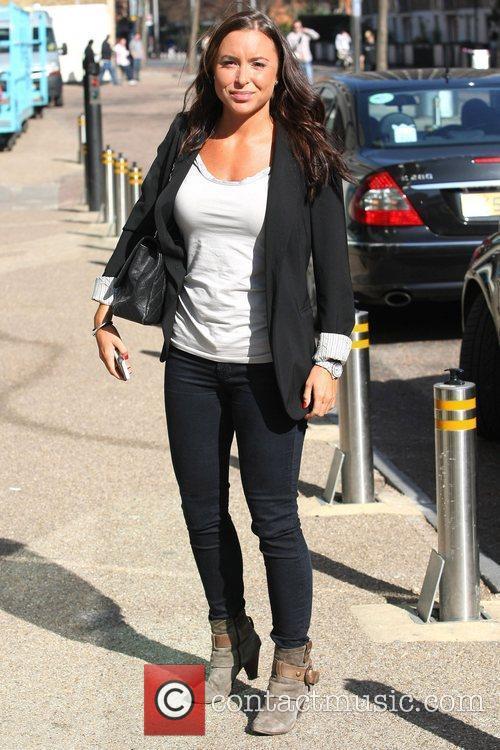 Sophia DeStephano outside the ITV studios  London,...