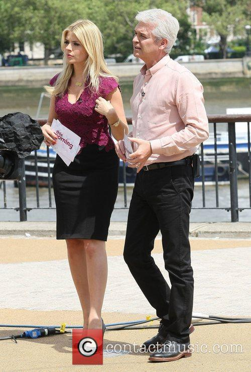 Holly Willoughby, Phillip Schofield and Itv Studios 3