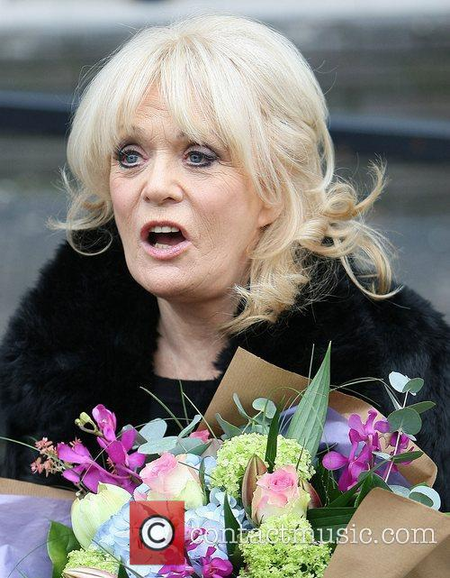 Sherrie Hewson at the ITV studios London, England