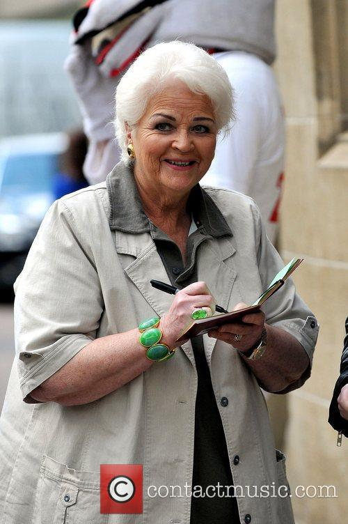 Pam St. Clement at the ITV studios London,...