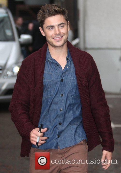 Zac Efron and Itv Studios 1