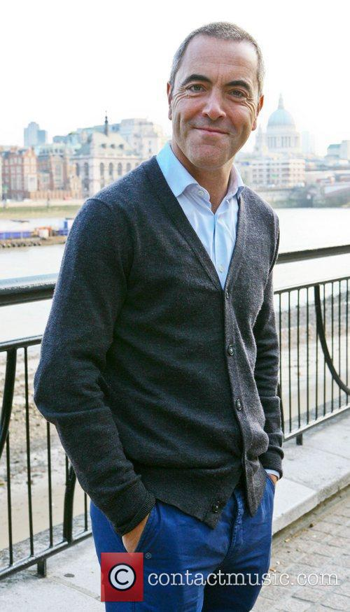 James Nesbitt  outside the ITV studios London,...