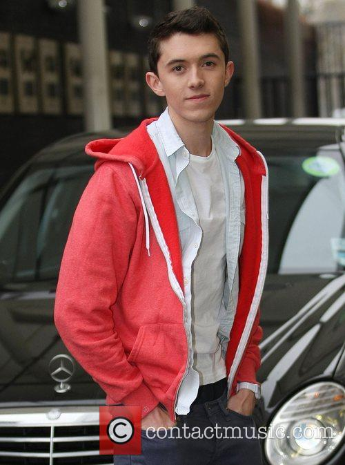 Ryan O'Shaughnessy from Britain's Got Talent at the...