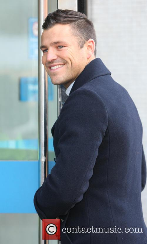 celebrities at the itv studios featuring mark 20024949