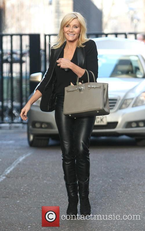 Michelle Collins Celebrities at the ITV studios...