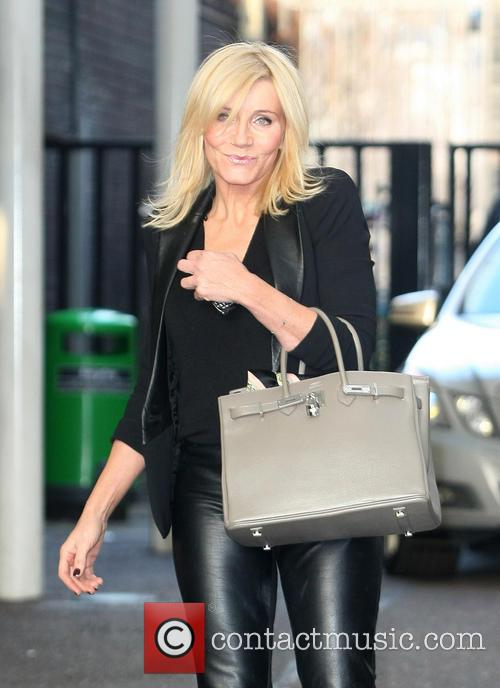 Michelle Collins Celebrities at the ITV studios...