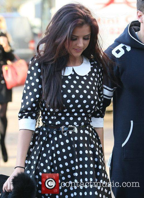 Lucy Mecklenburgh at the ITV studios London, England