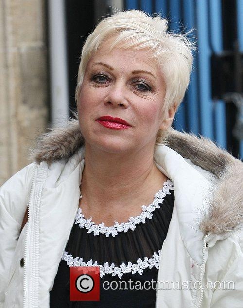 Denise Welch at the ITV studios Lonodn, England