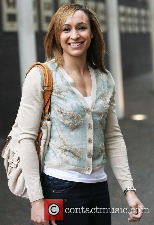 Jessica Ennis at the ITV studios Lonodn, England