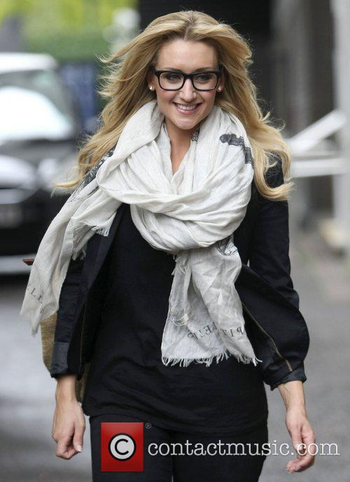 Catherine Tyldesley at the ITV studios London, England