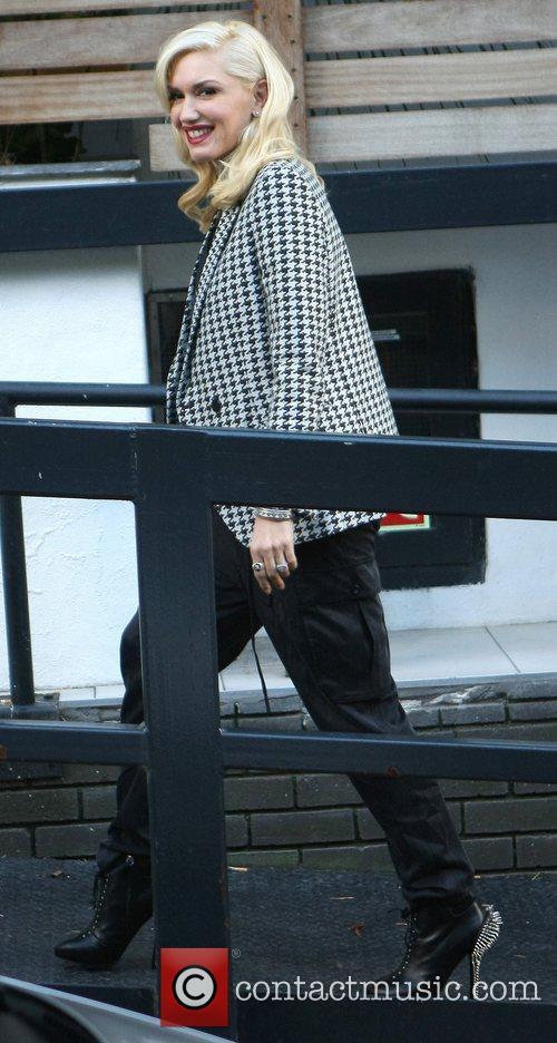 Gwen Stefani arriving at the ITV Studios London,...
