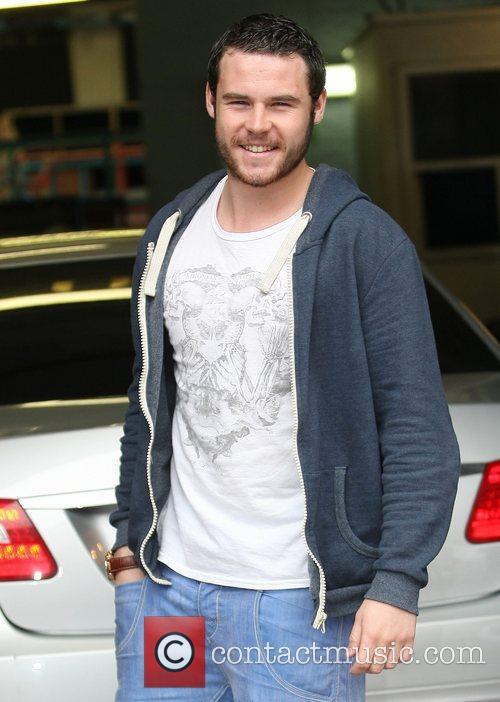 Danny Miller at the ITV studios London, England