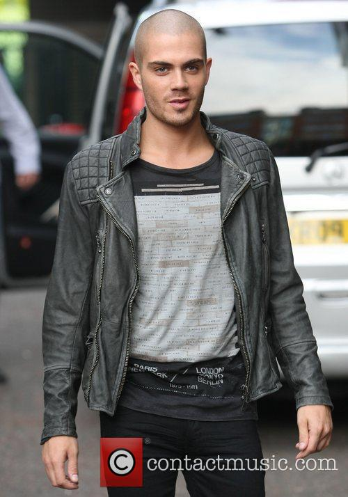 Max George of The Wanted Celebrities at the...