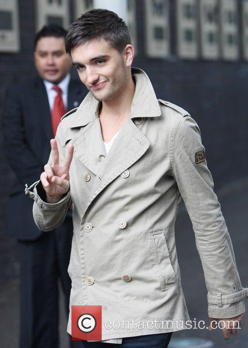 Tom Parker Celebrities at the ITV studios London,...