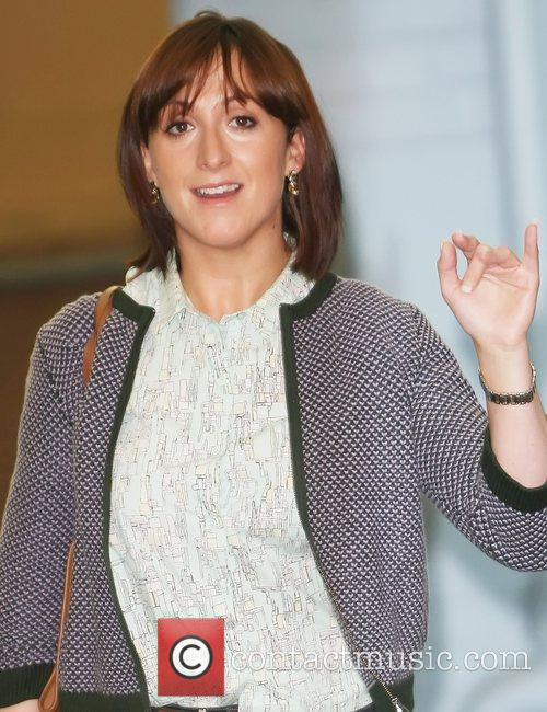 Natalie Cassidy outside the ITV studios London, England