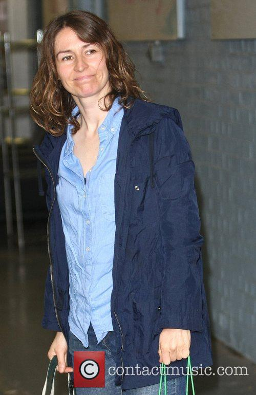 Helen Baxendale outside the ITV studios London, England