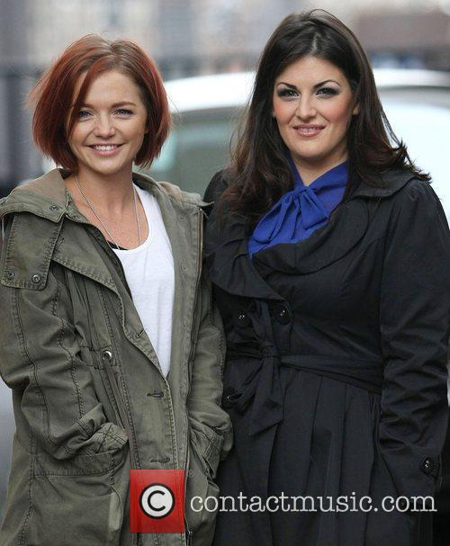 Hannah Spearritt, Jodie Prenger and Itv Studios 3