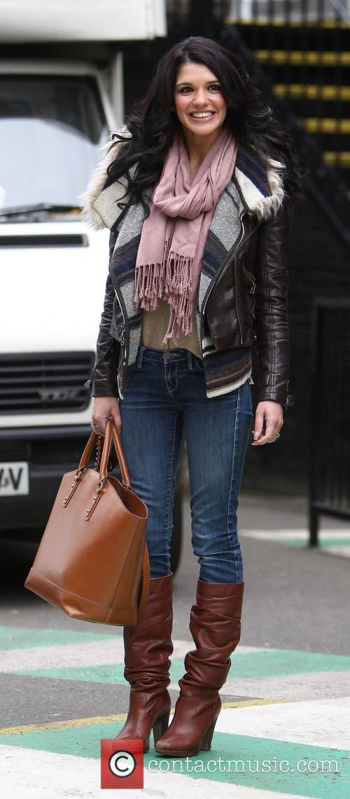 Natalie Anderson Celebrities outside the ITV studios...