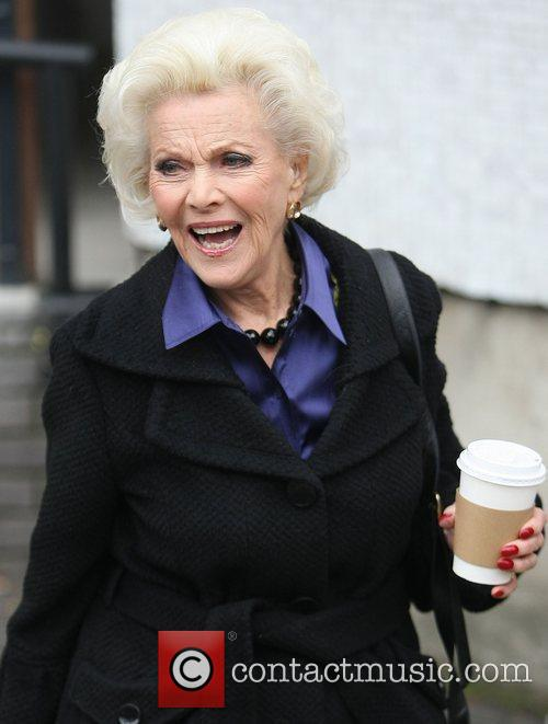 Honor Blackman and Itv Studios 2