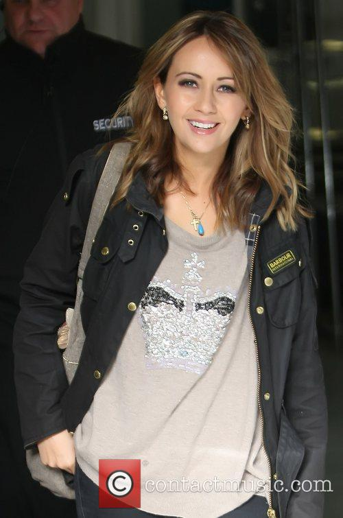Samia Ghadie outside the ITV studios London, England