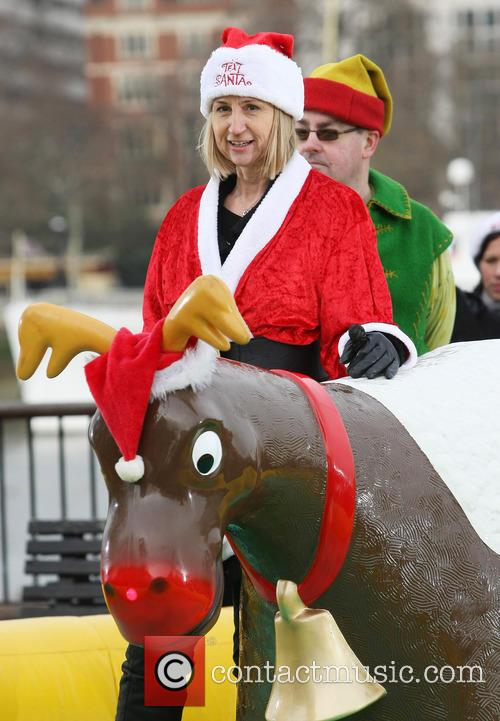 Carol Mcgiffin and Santa Claus 3