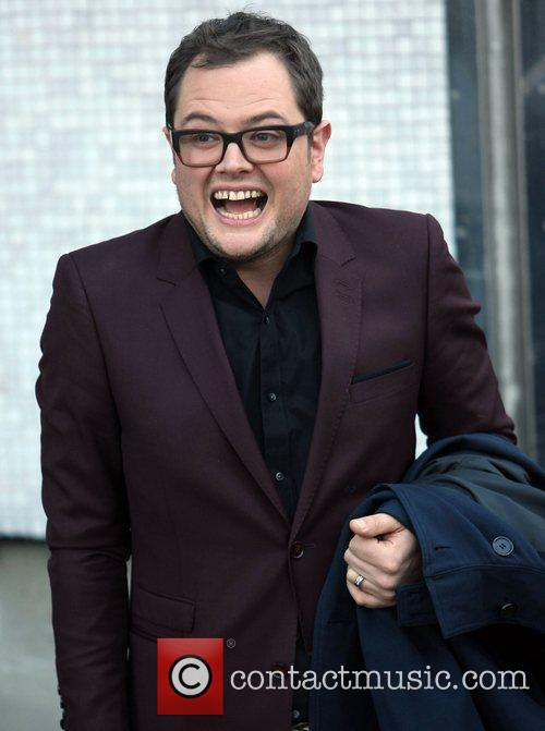 Alan Carr at the ITV studios London, England