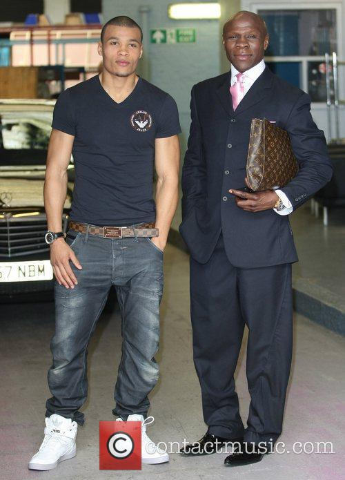 Chris Eubank Jr. and Chris Eubank  Celebrities...