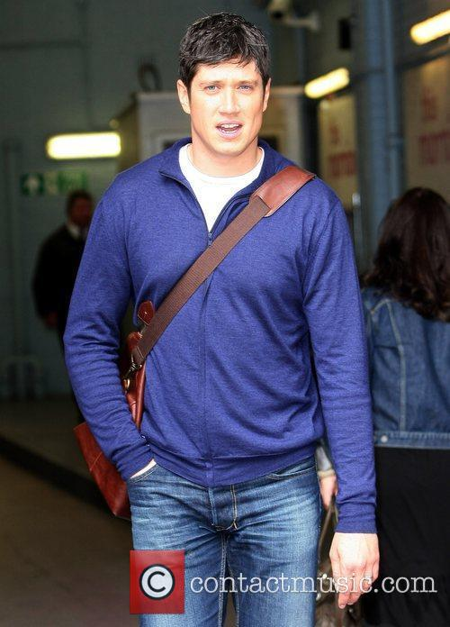 Vernon Kay Celebrities at the ITV studios London,...