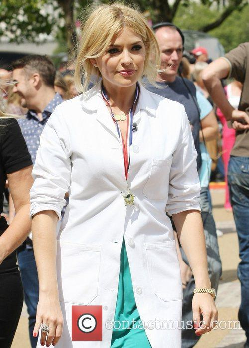 Holly Willoughby and ITV Studios 1
