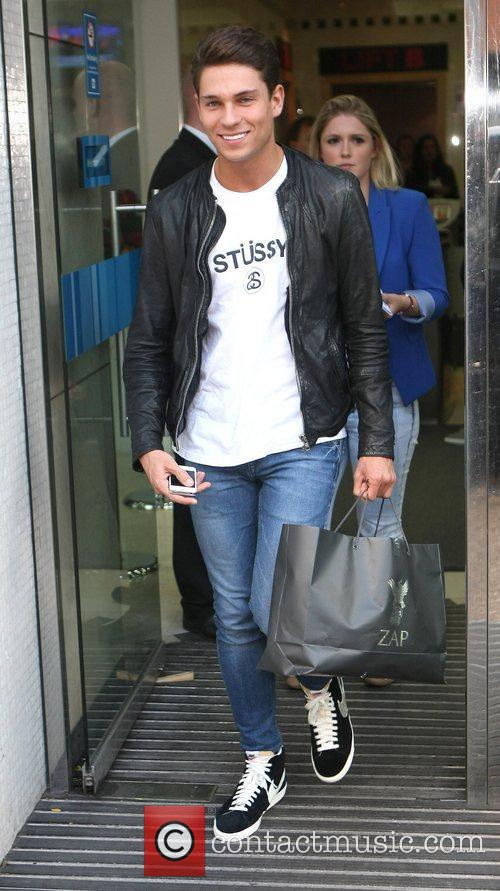 Joey Essex at the ITV Studios London, England